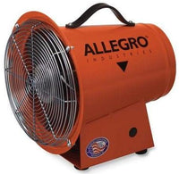 Explosion Proof Confined Space Ventilation Blower 8 inch 890 CFM w/ Canister and 25 ft. Duct 9514-06