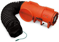Explosion Proof Confined Space Ventilation Blower 8 inch 900 CFM w/ Canister and 25 ft. Duct 9538-25