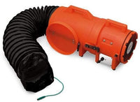 Explosion Proof Axial Confined Space Blower 12 inch w/ Canister & 15' Duct 1484 CFM 9548-15
