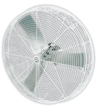 Barnstormer White 1 Speed Recirculation Fan 24 inch 4250 CFM 3 Phase VBS243