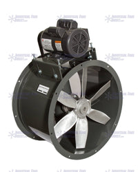 NB Tube Axial Fan 34 inch 17580 CFM Belt Drive 3 Phase NB34-H-3-T, [product-type] - Industrial Fans Direct