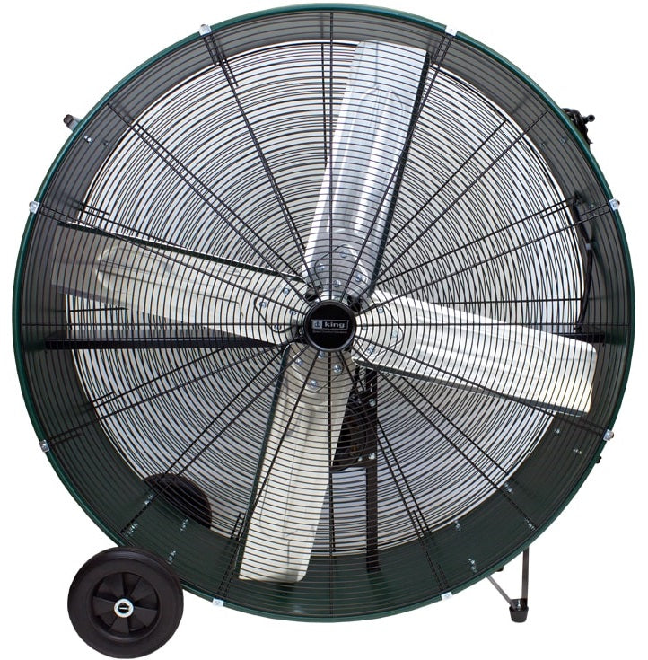 DFC Fixed Drum Fan 2 Speed 48 inch 17800 CFM Belt Drive DFC-48B