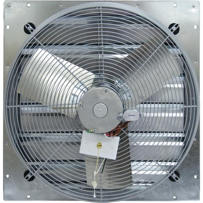 CE Exhaust Fan w/ Shutters 2 Speed 30 inch 3950 CFM Direct Drive CE30-DS, [product-type] - Industrial Fans Direct