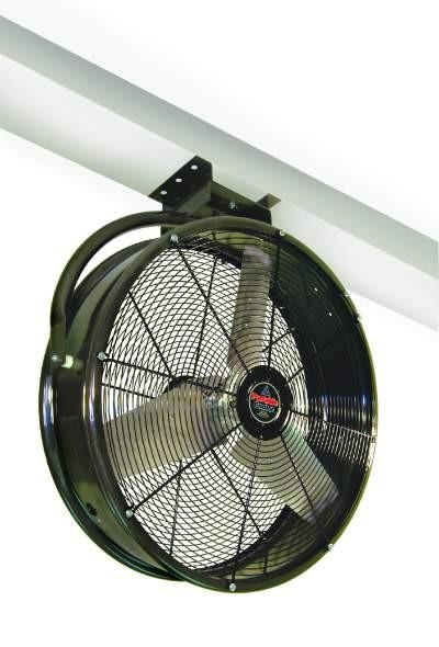 Drum Type Ceiling Mount Circulating Fan 36 Inch 10900 Cfm