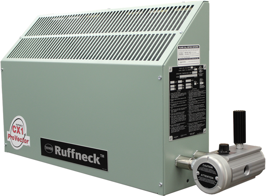 Ruffneck CX1 ProVector Series Explosion Proof Convection Heater 4095 BTU 1.2kW 240V 1Ph CX1-240160-012-T3-IIC