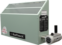 Ruffneck CX1 ProVector Series Explosion Proof Convection Heater 2560 BTU .75kW 380V 1Ph CX1-380160-0075-T3-IIB