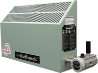 Ruffneck CX1 ProVector Series Explosion Proof Convection Heater 3856 BTU 1.13kW 380V 1Ph CX1-380160-0113-T3-IIB