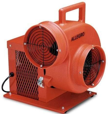 Confined Space Centrifugal Ventilator Blower 8 inch 1066 CFM 9504