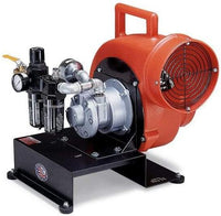 Pneumatic Air Driven Confined Space Blower 8 inch 1700 CFM 9508