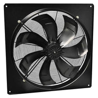 DXP Motorized EC Wall Axial Panel Fan 12 inch 1346 CFM 208-277V DXP300-2EC-12