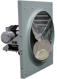 EFX Series Explosion Proof Exhaust Fan 20 inch 3760 CFM 1 Phase 240 Volt EFX-20A-2D