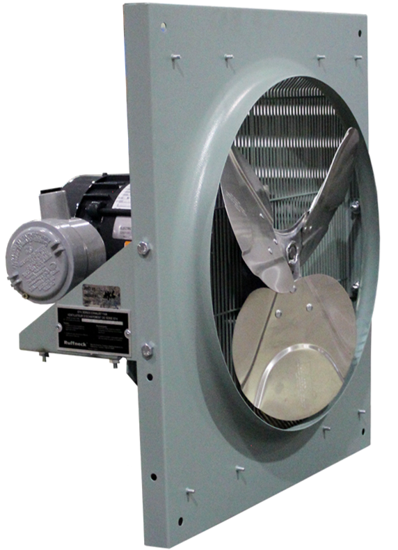 EFX Series Explosion Proof Exhaust Fan 24 inch 4180 CFM 3 Phase 575 Volt EFX-24A-2H