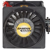 Intrinsically Safe Pneumatic Confined Space Ventilator 16 inch 3200 CFM AA7000, [product-type] - Industrial Fans Direct