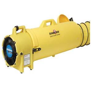 High Performance Turbofan Confined Space Blower 8 inch 819 CFM ED8025, [product-type] - Industrial Fans Direct
