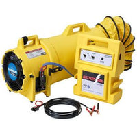 High/Low Control Confined Space Blower 8 inch 862 CFM ED9015-BAT, [product-type] - Industrial Fans Direct