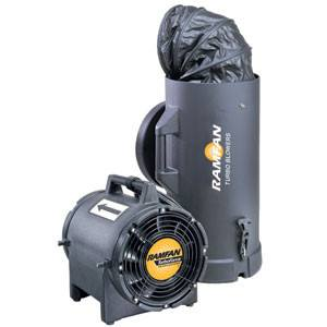 Hazardous Location Blower/Exhauster 8 inch 980 CFM EF7015, [product-type] - Industrial Fans Direct
