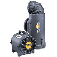 Hazardous Location Blower/Exhauster 8 inch 980 CFM EF7025, [product-type] - Industrial Fans Direct