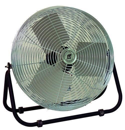 Industrial Floor Fan 3 Speed 24 inch 5850 CFM F-24-TE, [product-type] - Industrial Fans Direct