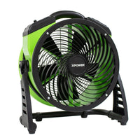 XPOWER Pro Brushless DC Motor Air Circulator Utility Fan with Timer 12 inch 1560 CFM 4 Speed FC-250D