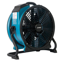 Xpower Manufacturing 11 inch Axial Air Mover Fan w/ Rack Variable Speed P-21AR