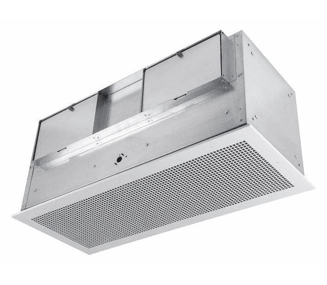FloAire Ceiling or Wall Mount Utility Ventilator w/ Grill 500 CFM Variable Speed CFA500FA