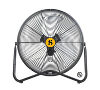 Firtana High Velocity Floor Fan 20 inch 3 Speed 4650 CFM FIRTANA-20X