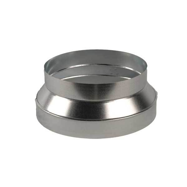 "Galvanized Duct Reducer/Increaser 12"" - 10"" Duct DRI12-10"