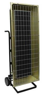 Fostoria by TPI Corp. Electric Portable Infrared Heater 32414 BTU 480 Volt FSP-9548-3