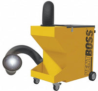 "VentBoss Portable Weld Fume Extractor w/ Single 6"" x 14' Lighted Flex Hose and Hood 750 CFM G112"