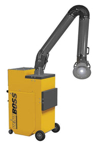 "VentBoss Portable Weld Fume Extractor w/ Single 8"" x 14' Lighted Fume Arm 1200 CFM G123"