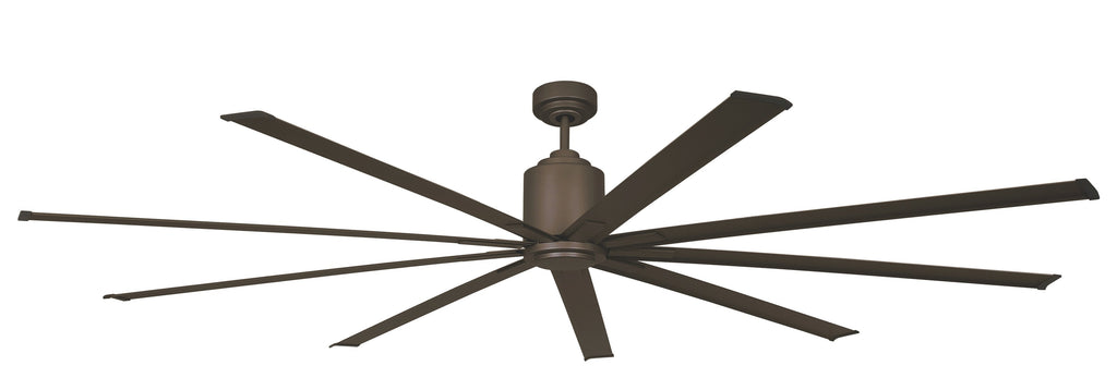 Big Air Bronze 96 inch Wet Environment Industrial Ceiling Fan w/ Remote 6 Speeds 13000 CFM ICF96WLORBUPS
