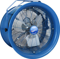 Patterson High Velocity Industrial Barrel Fan 18 Inch 3800 CFM (choose mount) H18A
