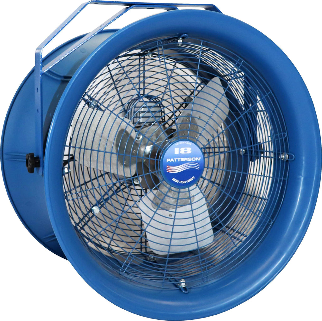 Patterson High Velocity Industrial Barrel Fan 22 Inch 5570