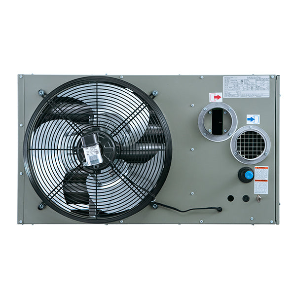 Modine Hot Dawg Separated Combustion Propane Aluminized Steel Garage U Industrial Fans Direct