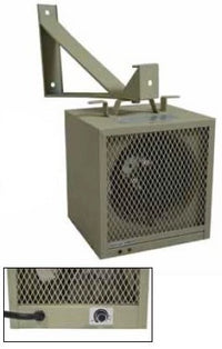 TPI Corp. Garage / Workshop Portable Heater w/ Bracket 15086 BTU 240/208 Volt HF5848TC