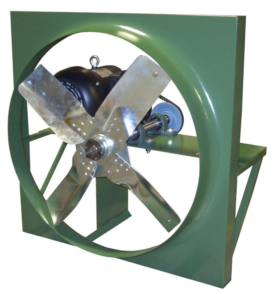 HV Panel Mount Exhaust Fan 36 inch 13129 CFM 3 Phase Belt Drive HV36T30150M