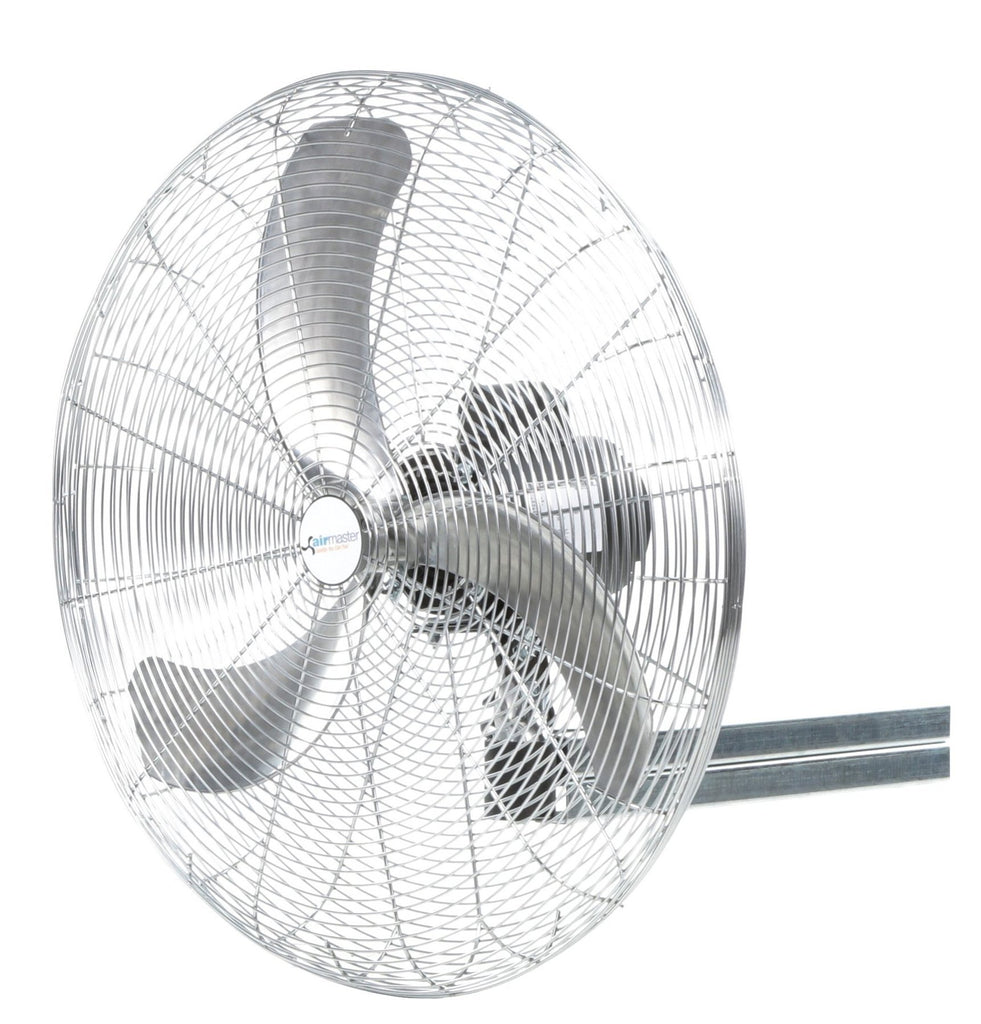 Airmaster High Ambient Heavy Duty I-Beam Mounted Air Circulator Fan 30 inch 8402 CFM 2 Speed (multi-pack discount) 20722