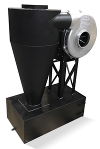 Cyclone Dust Collector 400 CFM at 2 inch SP w/ Dust Drawer CC-9-F