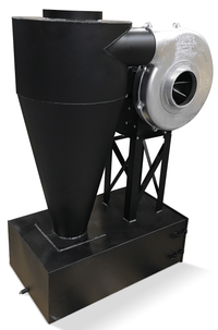 Cyclone Dust Collector 755 CFM at 2 inch SP w/ Dust Drawer CC-10-I