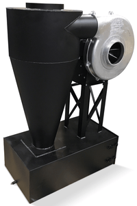 Cyclone Dust Collector 275 CFM at 2 inch SP w/ Dust Drawer CC-8-E