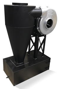Cyclone Dust Collector 855 CFM at 2 inch SP w/ Dust Drawer CC-12-I