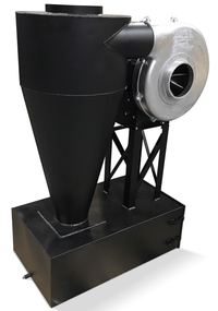 Cyclone Dust Collector 2000 CFM at 2 inch SP w/ Dust Drawer CC-14-L