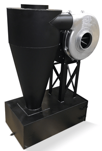 Cyclone Dust Collector 730 CFM at 2 inch SP w/ Dust Drawer CC-10-H