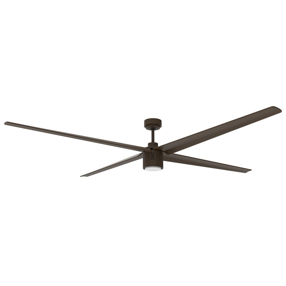 Big Air Oil-Rubbed Bronze 84 Inch Ceiling Fan w/ Integrated LED Light 6000 CFM ICF84ORB