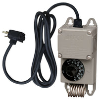 Single Stage Thermostat Control w/ 115V Cord VC115-C, [product-type] - Industrial Fans Direct
