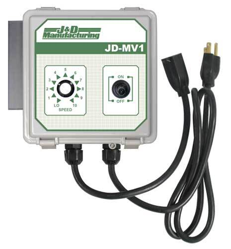 Manual Variable Speed Control With Cord JDMV1-C