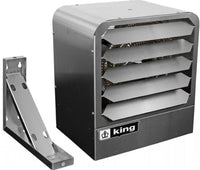 KBS Stainless Washdown Duty Heater w/ Mounting Bracket 17100 BTU 480V 1/3 Phase KBS4805-3MP-B2