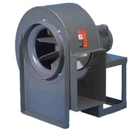 "KE Series Radial Blade Blower 9 inch 3 Phase 200 CFM at 1"" SP KE-09M, [product-type] - Industrial Fans Direct"