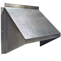12 inch Galvanized Weather Hood GH-XF12-M