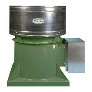 RTA Roof Exhaust Fan 42 inch 25980 CFM Belt Drive RTA42T10500, [product-type] - Industrial Fans Direct